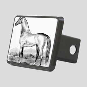 Horse Illustration1 Rectangular Hitch Cover