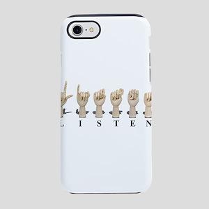 ListenAmeslan062611 iPhone 7 Tough Case