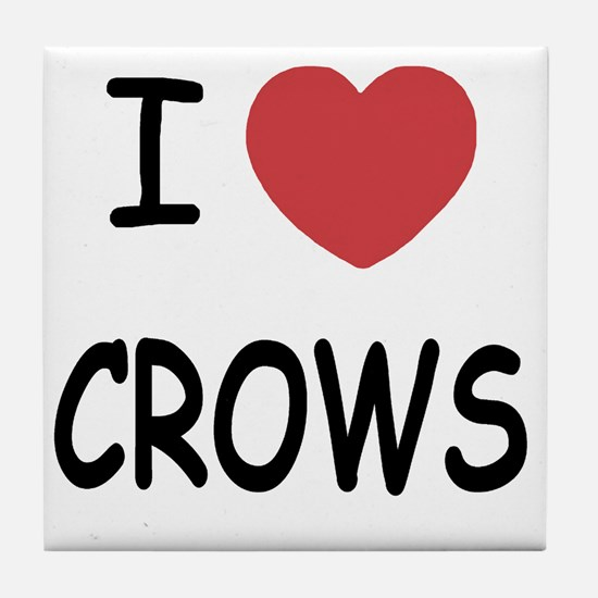 CROWS Tile Coaster