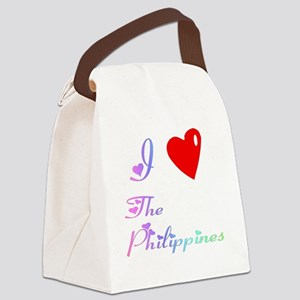 PhilippinesWXXX Canvas Lunch Bag