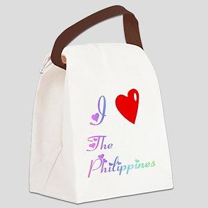 PhilippinesWXXX Canvas Lunch Bag