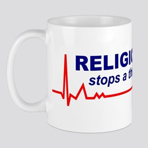 Religion Stops a Thinking Mind Mug