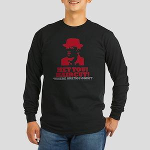 pop3 Long Sleeve Dark T-Shirt