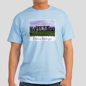Stonehenge - Light Blue T-Shirt