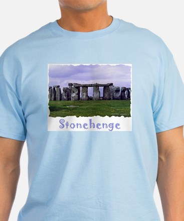 Stonehenge - Light Blue T-Shirt