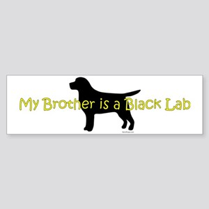 BlackLabBrother Sticker (Bumper)