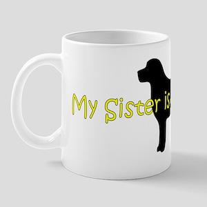 BlackLabSister Mug