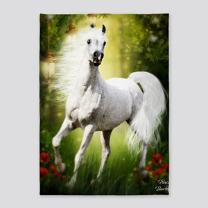 Grey Stallion 5'x7'Area Rug