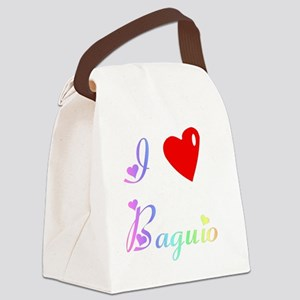 BaguioWXXX Canvas Lunch Bag