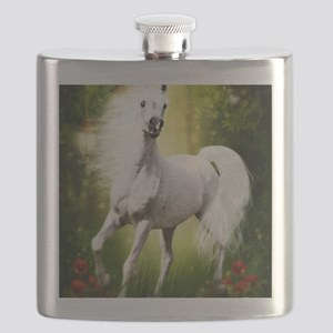 Grey Stallion Flask