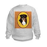 Australian Shepherd design Kids Sweatshirt
