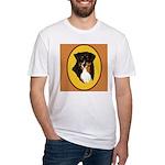Australian Shepherd design Fitted T-Shirt