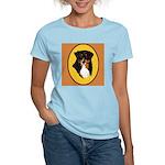 Australian Shepherd design Women's Light T-Shirt