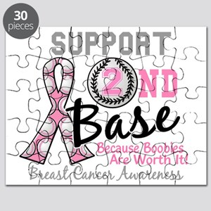 - Support 2nd Base Breast Cancer Puzzle