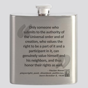 Havel Rights Quote Flask
