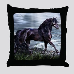Fresian Throw Pillow