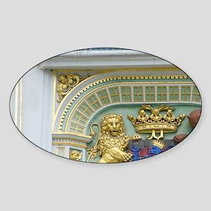 West Flanders Sticker (Oval)
