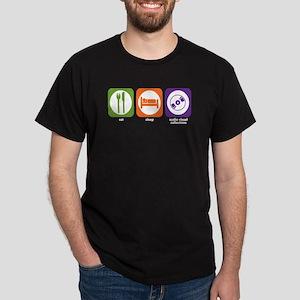 Eat Sleep Audio-Visual Collections Dark T-Shirt