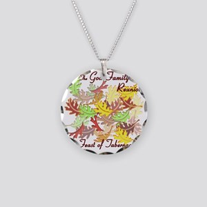 The God Family Reunion10X10 Necklace Circle Charm