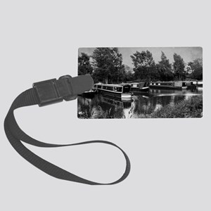 Still Thinking  Just Chilling... Large Luggage Tag