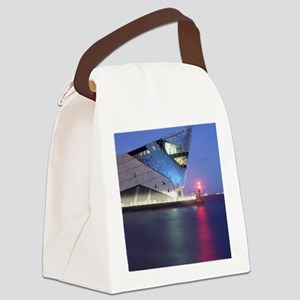 The Deep a Night Canvas Lunch Bag