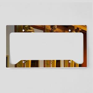 Interior of Viennese Concert  License Plate Holder
