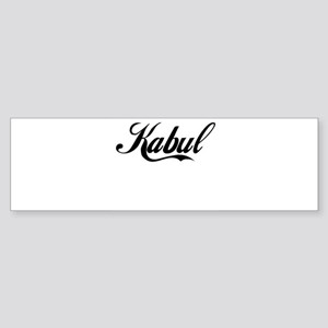 KABUL Bumper Sticker