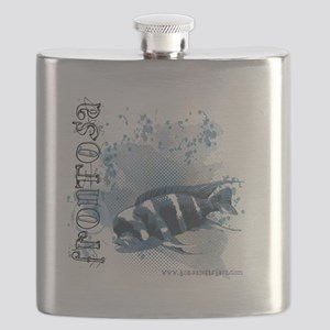 frontosa-tshirt12x12 Flask