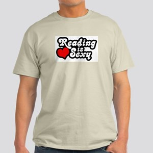 Reading is sexy Light T-Shirt