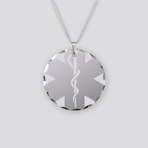 SOL-gradient-LG Necklace Circle Charm