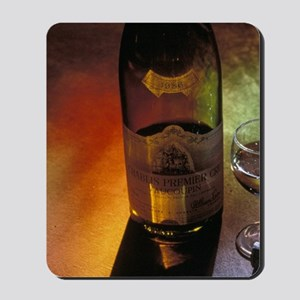 EU, France, Chablis Winery, Burgundy Win Mousepad