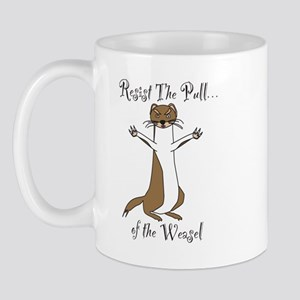 Pull-of-the-Weasel Mugs