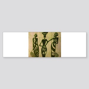 3 Sistas (Green) Bumper Sticker