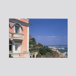 France. Along the French Riviera, Rectangle Magnet