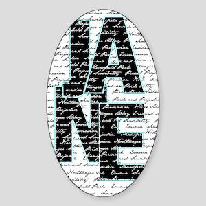 nook_JANE Sticker (Oval)