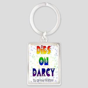 nook_darcy_dibs Portrait Keychain