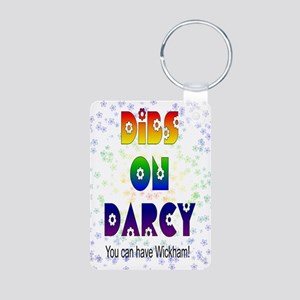 nook_darcy_dibs Aluminum Photo Keychain