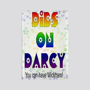 nook_darcy_dibs Rectangle Magnet