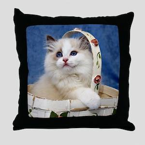 H Daystar Throw Pillow