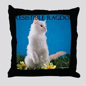 H Cover Throw Pillow
