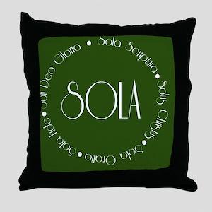 sola12 Throw Pillow
