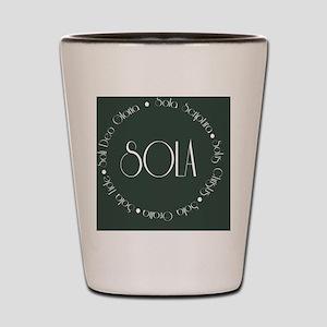 sola13 Shot Glass