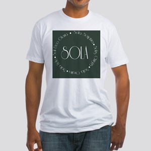 sola13 Fitted T-Shirt