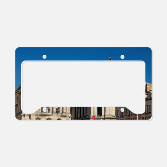 The Palace of Versailles at V License Plate Holder