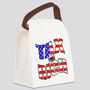 TAX the RICH Canvas Lunch Bag