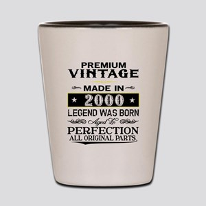 PREMIUM VINTAGE 2000 Shot Glass