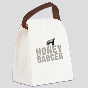 Honey Badger Thing -dk Canvas Lunch Bag