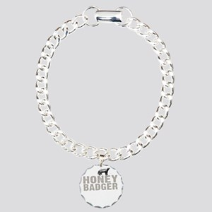 Honey Badger Thing -dk Charm Bracelet, One Charm