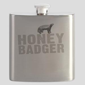 Honey Badger Thing -dk Flask