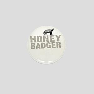 Honey Badger Thing -dk Mini Button